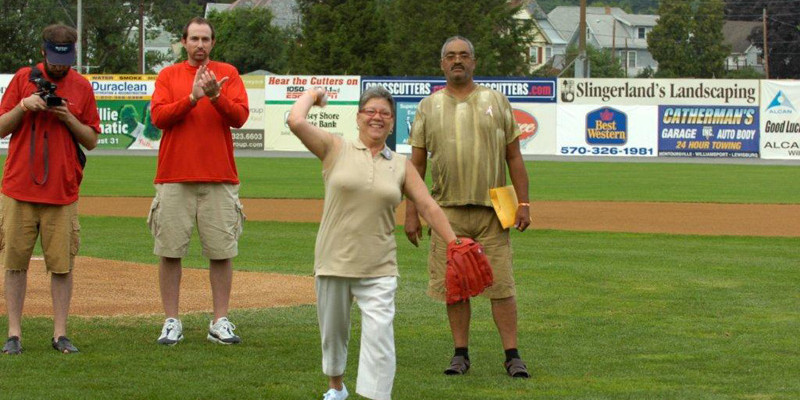 2010 Williamsport Crosscutters Promotional Event