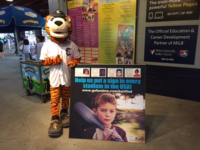 Dodd Stadium to feature photos of missing children in nationwide campaign