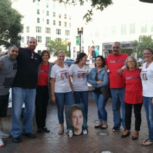 Kidnapping survivor of Cleveland house of horrors visits Jacksonville for rally for missing children