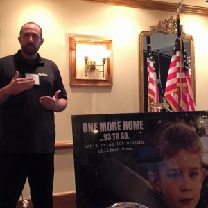 Dennis Bair talks with the Women Business Owners of North Florida